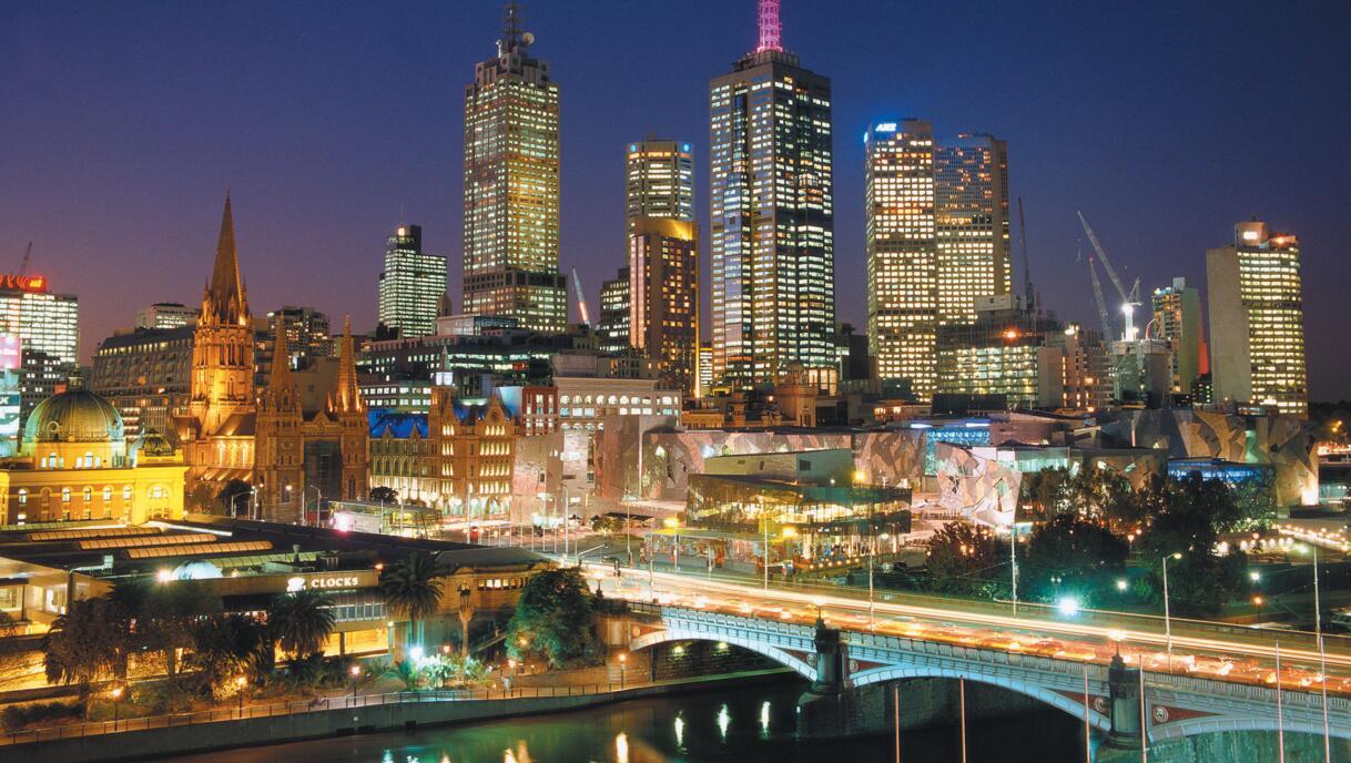 旅游热门城市墨尔本10年规划出炉!预计常住人口超500万 1