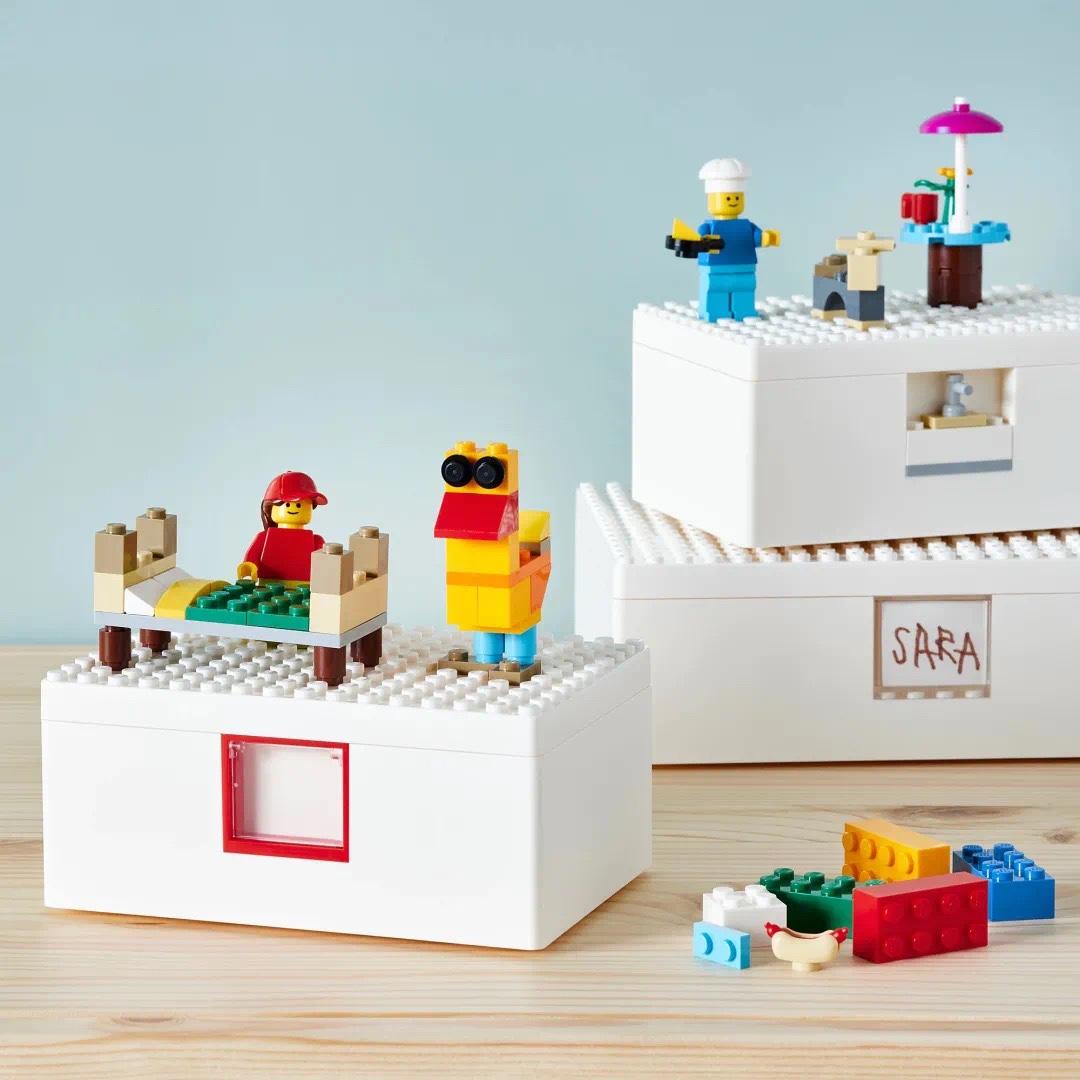 澳洲打折优惠: 澳洲宜家IKEA x Lego联名款澳洲开售